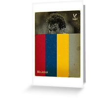 Jedinak Greeting Card