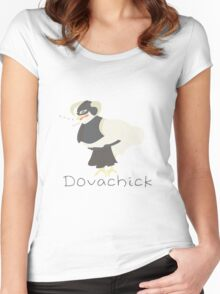 Dovachick Women's Fitted Scoop T-Shirt
