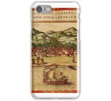 Calcutta 1572 iPhone Case/Skin