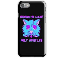 Werewolves against wolf whistles iPhone Case/Skin