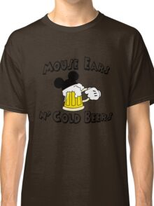 Mouse Ears and Cold Beers Classic T-Shirt