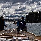 Preparing a Dragon Boat for a Race by Wolf Sverak