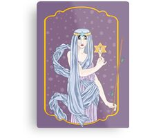 Tarot The Hermit Metal Print