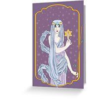 Tarot The Hermit Greeting Card