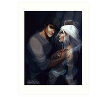 Dorian and Manon Art Print