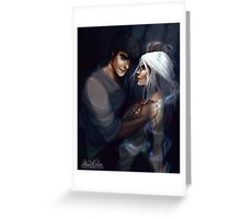 Dorian and Manon Greeting Card