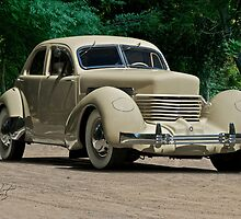 1937 Cord Beverly by DaveKoontz