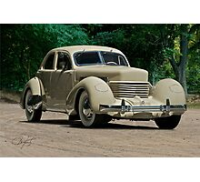 1937 Cord Beverly Photographic Print