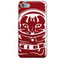 RED GALAXY SPACE CAT SMARTPHONE CASE (Graffiti) iPhone Case/Skin