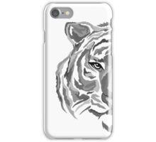 Black/Gray Tiger iPhone Case/Skin