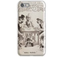 Performing Arts Posters This is it Johnny on the spot a Bill Nye musical farce 0921 iPhone Case/Skin