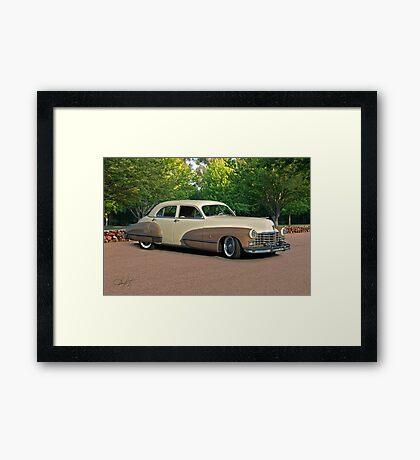 1947 Cadillac Series 61 Sedan Framed Print