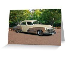 1947 Cadillac Series 61 Sedan Greeting Card