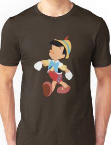 Pinocchio Illustration Unisex T-Shirt