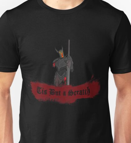 Black Knight Tis But a Scratch Unisex T-Shirt