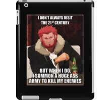 Iskander The Most Interesting Man In The World iPad Case/Skin