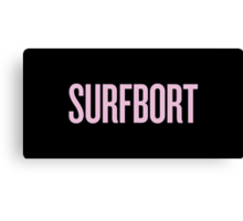 SURFBORT with yonce Canvas Print