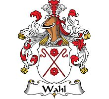 Wahl Coat of Arms (German) Photographic Print