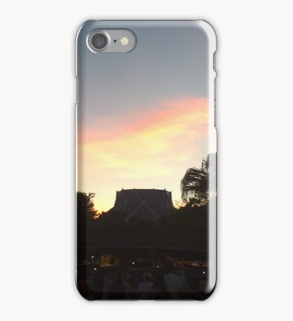 Sunset over The Land iPhone Case/Skin
