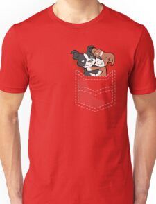Tuppence and Pepper in pocket Unisex T-Shirt