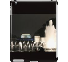 Lincoln Memorial/ WW2 Memorial iPad Case/Skin