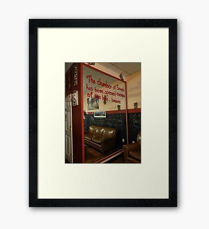 The chamber of secrets Framed Print