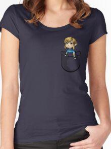Pocket Link BOTW Zelda Women's Fitted Scoop T-Shirt