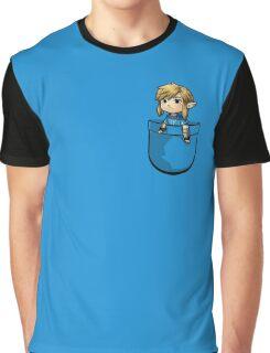 Pocket Link BOTW Zelda Graphic T-Shirt