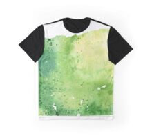 Watercolor Map of Oregon, USA in Green - Giclee Print My Own Watercolor Painting Graphic T-Shirt