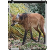 Extra Tall Wolf iPad Case/Skin