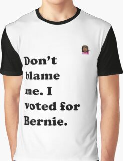 Don't Blame Me Emoji Tee Graphic T-Shirt