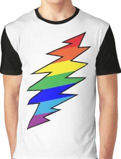 Rainbow Bolt Graphic T-Shirt