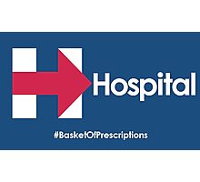 Helpful Hospital Direction for Hillary Photographic Print