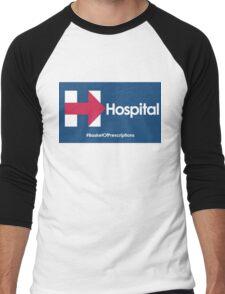 Helpful Hospital Direction for Hillary Men's Baseball ¾ T-Shirt