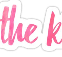 for the kids pink script!!!!  Sticker