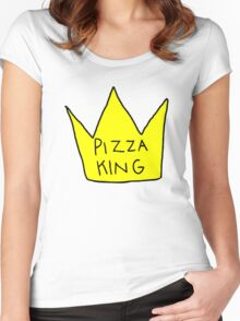 Pizza King Women's Fitted Scoop T-Shirt