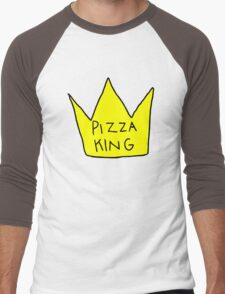 Pizza King Men's Baseball ¾ T-Shirt