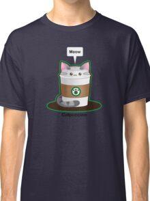 Cute Cat Coffee Classic T-Shirt