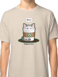 Cute Cat Coffee Classic T-Shirt