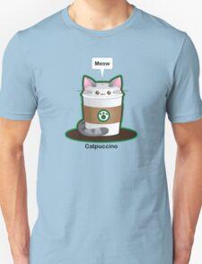 Cute Cat Coffee Unisex T-Shirt