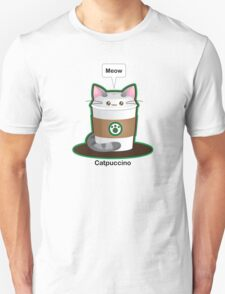 Cute Cat Coffee T-Shirt