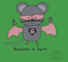 Become a hero Kids Tee