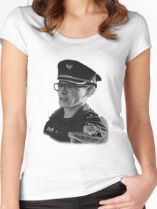 Content Cop - iDubbbzTV Women's Fitted Scoop T-Shirt