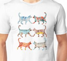 Cat Collection: Watercolor Unisex T-Shirt