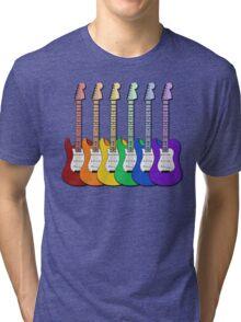 Rainbow Guitars Tri-blend T-Shirt