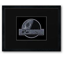 Not a Moon Framed Print