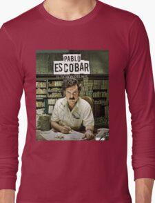 Narcos A.K.A Pablo Escobar Long Sleeve T-Shirt