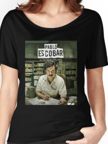 Narcos A.K.A Pablo Escobar Women's Relaxed Fit T-Shirt
