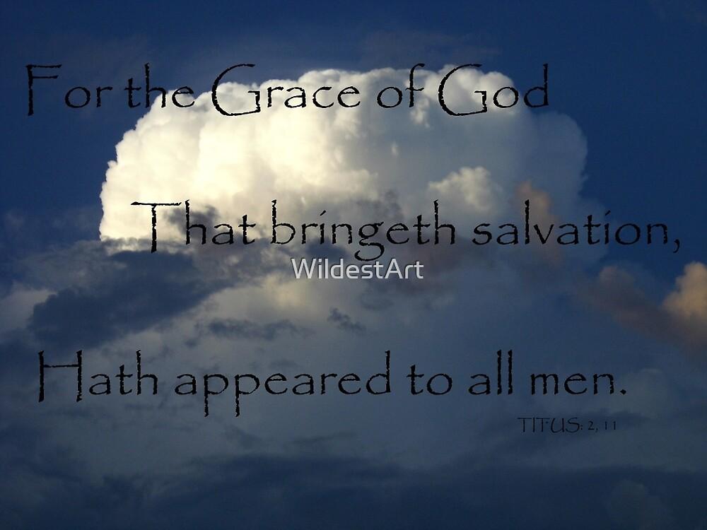 Titus Bible verse by WildestArt