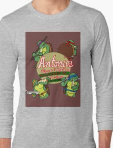 Cowabunga Pizza TMNT Long Sleeve T-Shirt